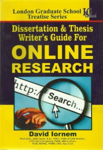 Dissertation and Thesis Writers' Guide
