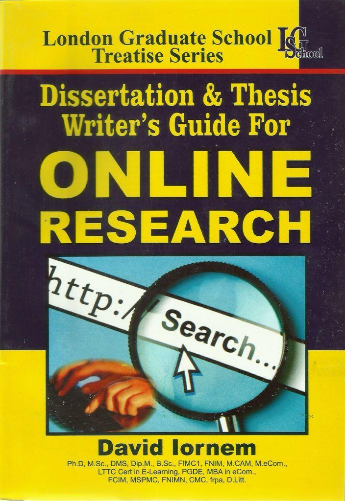 Online dissertation and thesis handbook