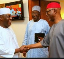 Atiku, Oyegun behind closed door meeting