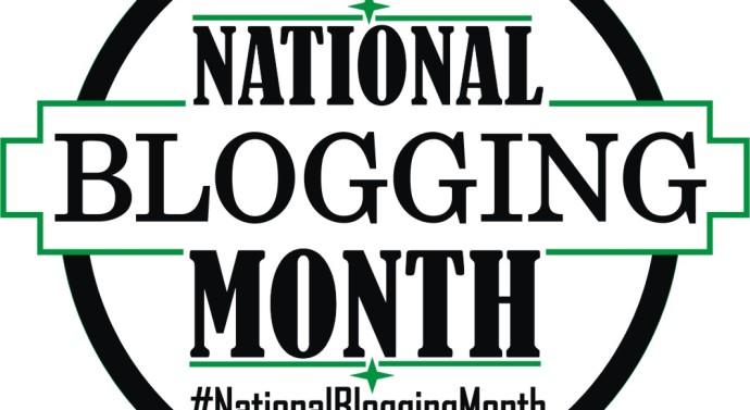 National Blogging Month Begins July 1- July 31