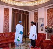 BREAKING: President Buhari meets Jonathan over Niger Delta crisis